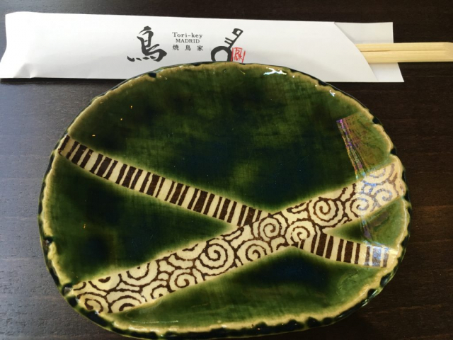 Plato del restaurante japonés Tori-key. @Rosa Rivas