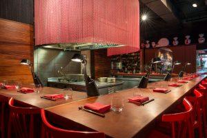 Interior del restaurante barcelonés Dos Palillos.Interior del restaurante barcelonés Dos Palillos.Interior del restaurante barcelonés Dos Palillos.