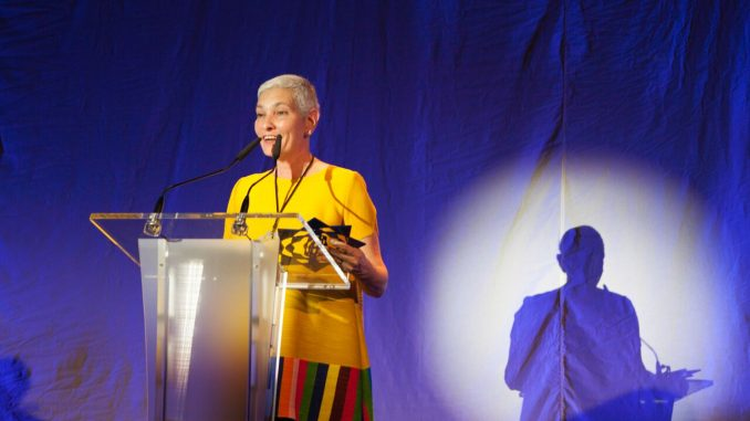 La chocolatera venezolana María Fernanda di Giacobbe, ganadora del Basque Culinary World Prize 2016.