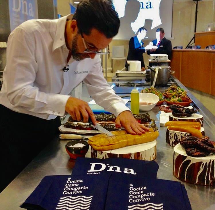 Quique Dacosta, ideólogo del festival gastronómico D*na.
