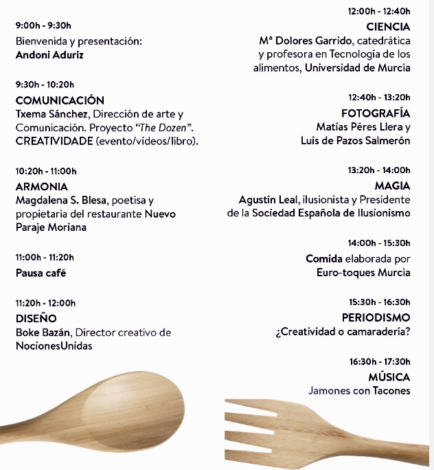 Programa de Sopa de Letras. Caravaca. 2017