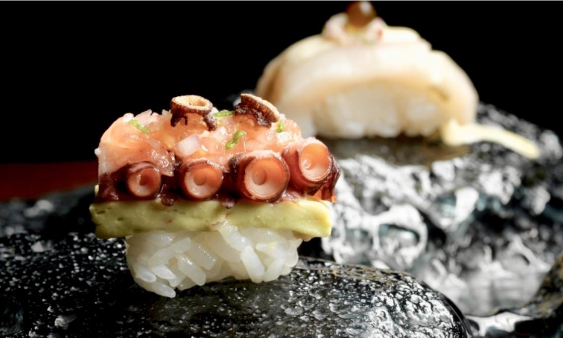 'Suchi mar' de Mitsuharu Tsumura en su restaurante Ají de Macao / MGM China