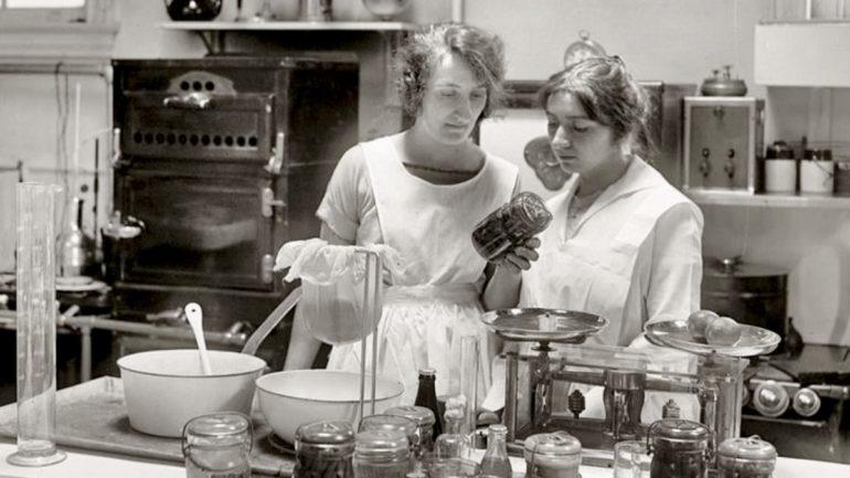 Ellas cocinan. Gastrofeminismo