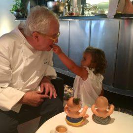 Juan Mari Arzak, en su restaurante. /ROSA RIVAS