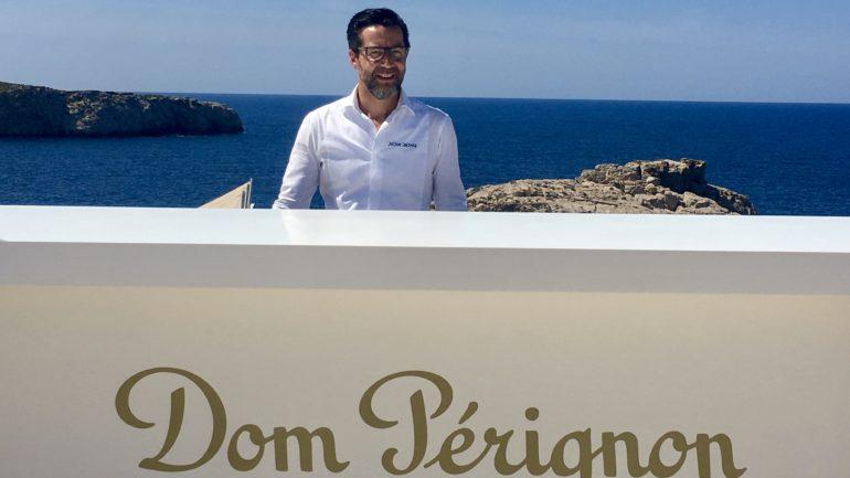 Quique Dacosta en la isla del champán