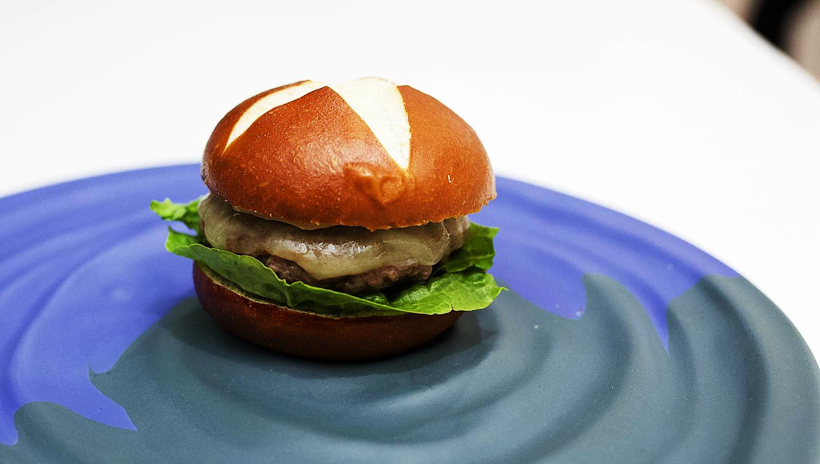 Hamburguesa Bibo, incluida en el menú Madre de 2019.