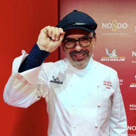 Jesús Sánchez, chef del Cenador de Amós. / Rosa Rivas