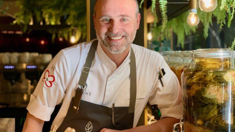 Rodrigo de la Calle planta su cocina verde en Barcelona