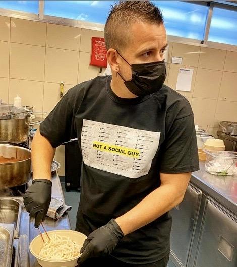 Dabiz Muñoz, chef de DiverXO.