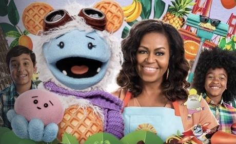 Michelle Obama cocina 'Gofre y Mochi', una aventura alimenticia en Netflix